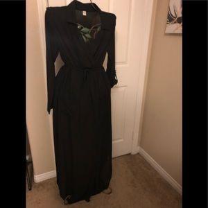 NWOT Black Coverup Shear Dress